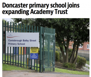 Doncaster primary school joins expanding Academy Trust