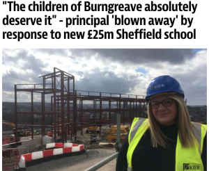 """The children of Burngreave absolutely deserve it"" - principal 'blown away' by response to new £25m Sheffield school"